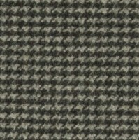 F0267-1 Houndstooth Charcoal Fabric - Midcentury ...