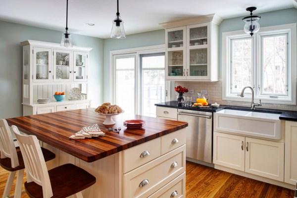 antique farmhouse kitchen cabinets Gourmet Antique - Farmhouse - Kitchen - Chicago - by Insignia Kitchen and Bath Design Studio