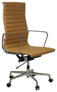 Mid Century Modern Executive High Back Office Chair ...