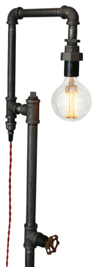 Shop Houzz | Peared Creation Industrial Style Floor Lamp ...
