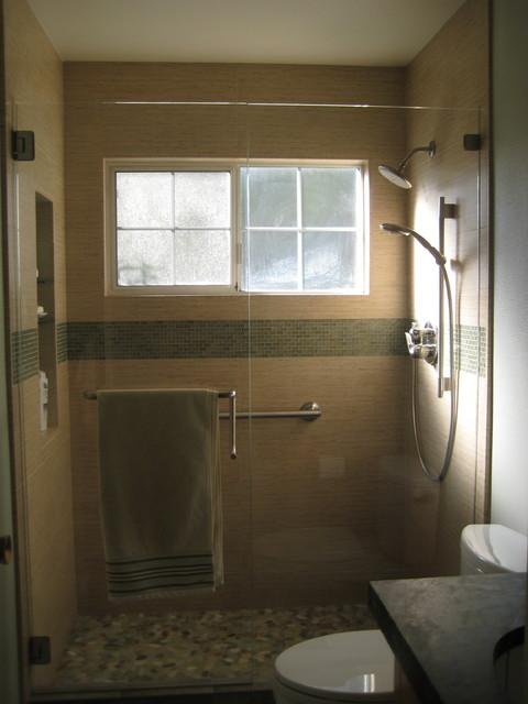 Small Zen Bathroom Asian Bathroom San Francisco