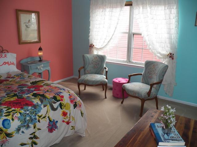 Romantic Vintage Teenage Bedroom  Eclectic  Bedroom  chicago  by DM Designs