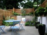 Courtyard garden design in Barnsbury, London ...