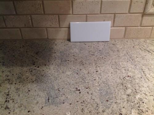 pink kitchen rug shelving units backsplash to go with kashmir white granite??