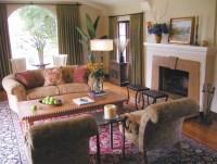 Spanish Revival Living Room in Glendale, CA ...