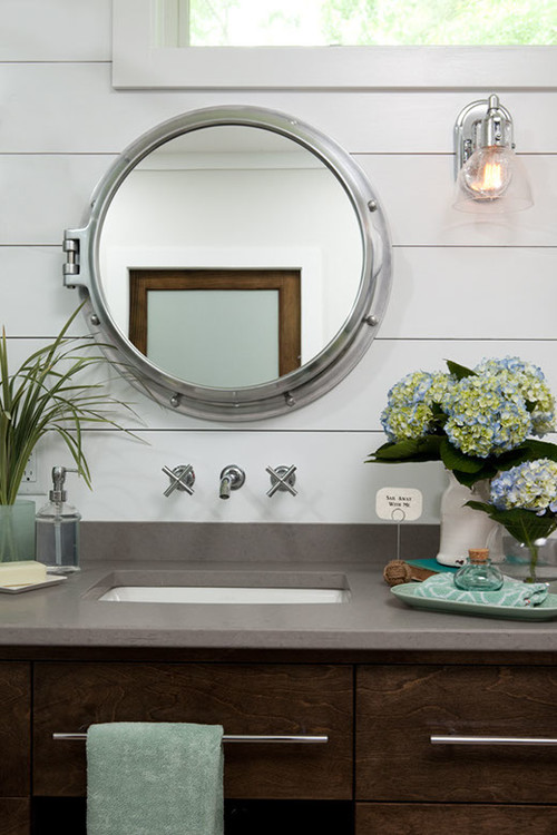 porthole medicine cabinet  Home Decor