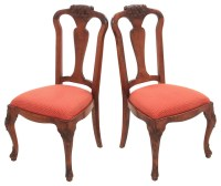 Queen Anne-Style Side Chairs, Pair - Contemporary - Dining ...