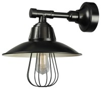 Wall Sconce, Black - Contemporary - Wall Sconces - by ANP ...