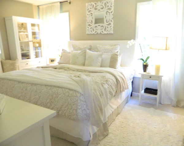 peaceful master bedroom Romantic and Peaceful Master Bedroom - Traditional - Bedroom
