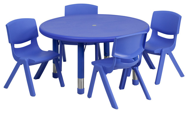 plastic kids table and chairs how to install serena lily hanging chair flash furniture activity set traditional tables by beyond stores