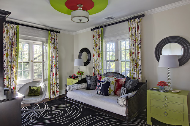 Swirls For Girls Contemporary Bedroom New York By B Fein