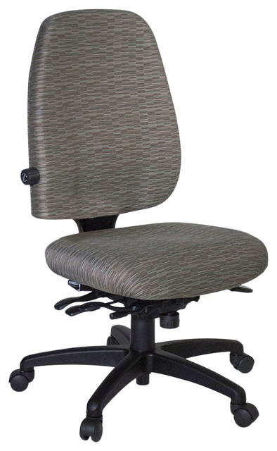 ergonomic chair without arms hanging upside down officer s high back office no contemporary chairs by kare products