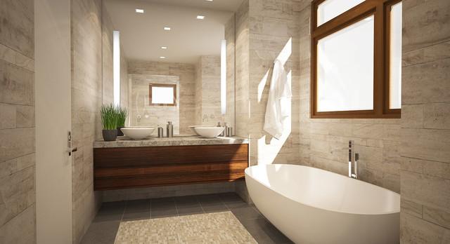Bathroom Renderings  Modern  Bathroom  San Francisco