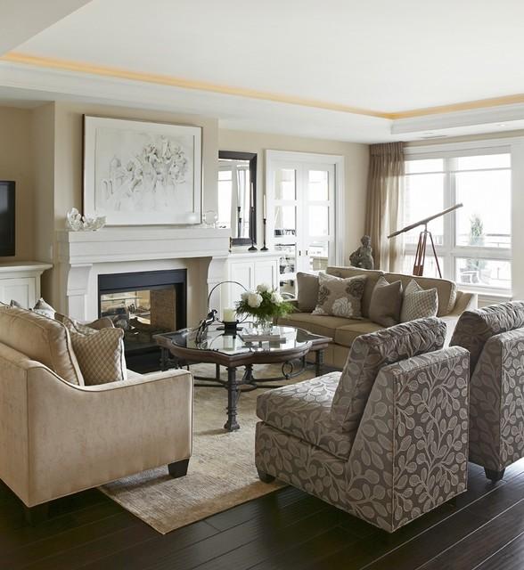Elegant Living Space  Living Room  Toronto  by Jackie