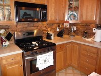 Kitchens with Faux Stone Panels - Traditional - Kitchen ...