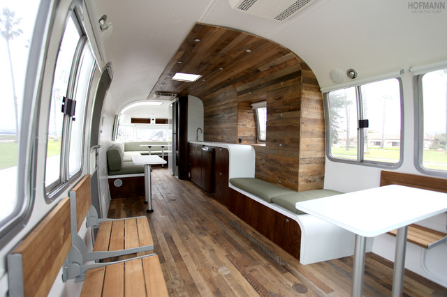 1985 345 Mobile Office Airstream  Contemporary  Santa