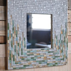 Framed Wall Pictures For Living Room Ireland Sofas Sale April Showers Mosaic Mirror Frame - Richmond By Phoenix ...