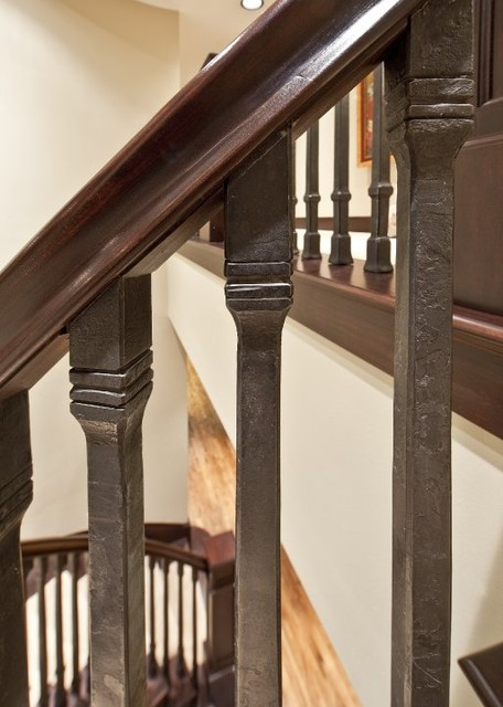 Second Staircase  Traditional  Staircase  Seattle  by ARTifact Interior Design