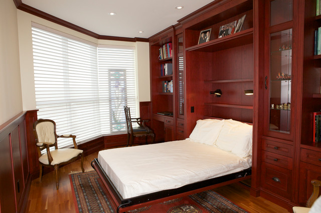 Condo Office and Murphy Bed builtins  Traditional