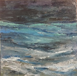 The Tumult Of The Sea, Original By Roy Featherstone