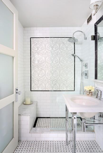 Chicago Condo Remodel transitional-bathroom