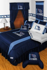 NFL Tennessee Titans Bedding and Room Decorations - Modern ...