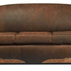 Southwestern Sofas Loose Sofa Slipcovers Santa Fe Leather By Rustic Artistry