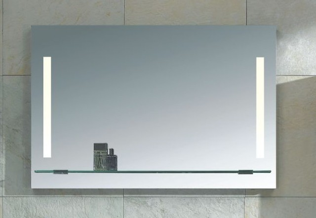 Mirror with Integrated Lighting  Napoli  Modern