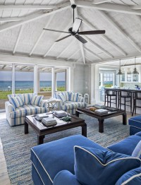 Oceanfront Living Room - Beach Style - Family Room - Other ...
