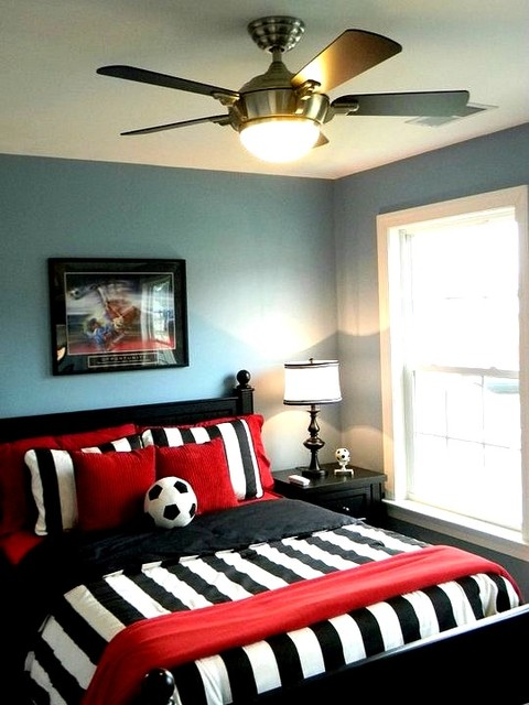 Boy S Soccer Room Contemporary Kids Richmond By