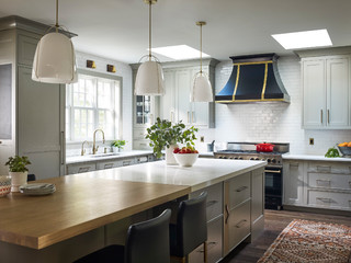 Kitchen Of The Week: Modern Farmhouse With An Open Look ( Photos)