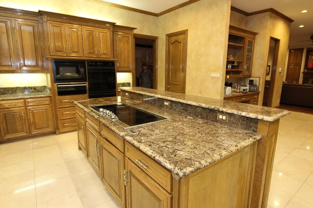 Coliseum Kitchen Custom Granite Sink Ogee Edge