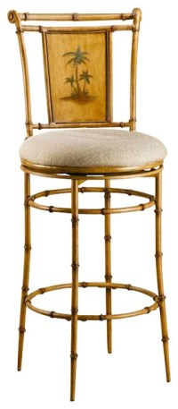 Hillsdale West Palm 26 Inch Swivel Counter Height Stool ...