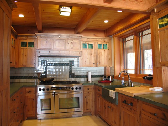 Mission Style Kitchen Traditional Kitchen Boston By Vermont Custom Cabinetry