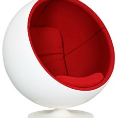 Ball Chairs Chair Rail Lowes Authentic By Eero Aarnio For Adelta Armchairs And Accent V4 Design Specialists