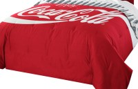 Coca Cola Twin-Full Comforter Set, Coke Logo Bedding ...