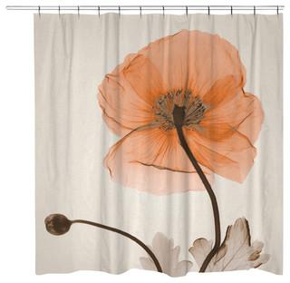 Poppy Harvest Shower Curtain