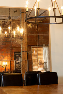 Hard Loft Space Industrial Dining Room Edmonton By