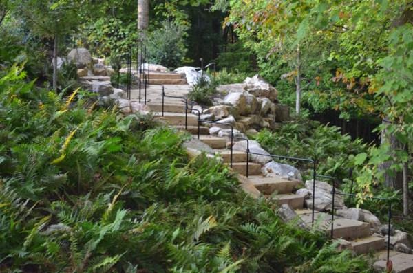 stone staircase designed daniel