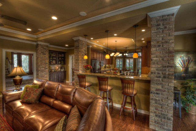 kitchen remodel dallas spoon rest after - traditional ...