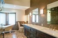 Mountain Modern Master Bathroom - Contemporary - Bathroom ...