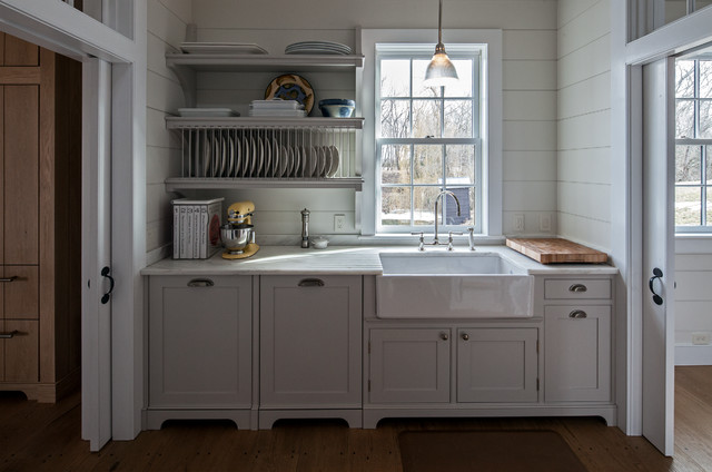 old kitchen sink with drainboard stainless steel counter vintage barn frame addition to dutch stone house ...