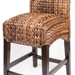 Backless Chair Height Stool Gold Covers For Rent Birdrock Home - Bird Rock Seagrass View In Your Room! | Houzz