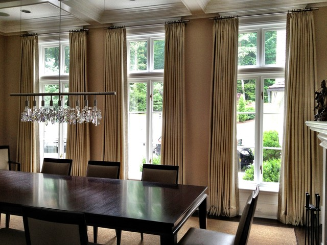 Curtains  Contemporary  Dining Room  New York  by