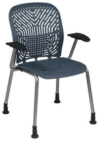 801 Series SpaceFlex Back Visitor Chair With Arms ...
