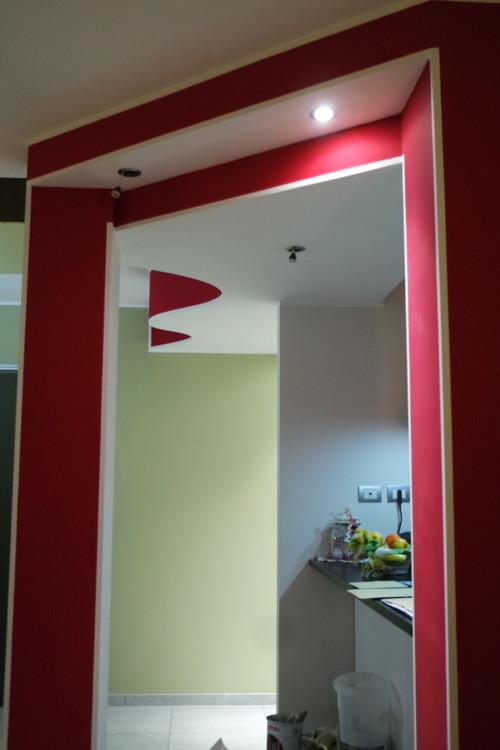 Colore controsoffitto soletta e parete sopra