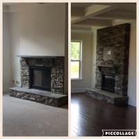 Fireplace full stone or half ? Which one should I go with?