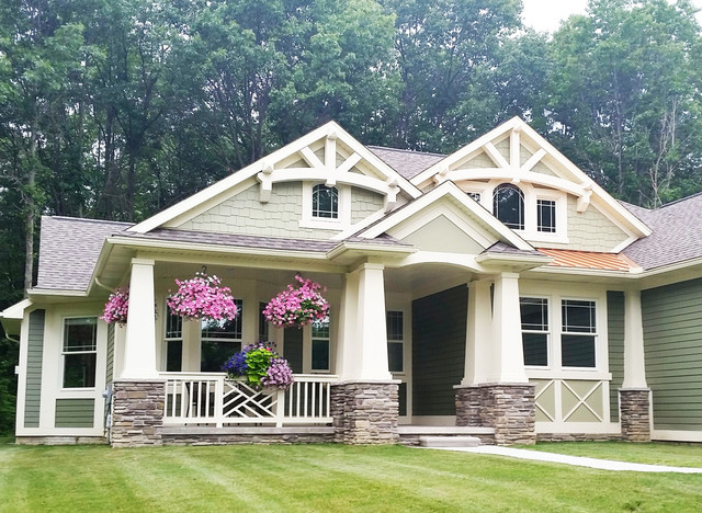 Bungalow House Plan 23503JD Craftsman Exterior New York By