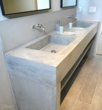 Concrete Vanities - Contemporary - Bathroom Vanities And ...