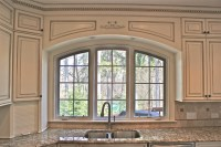 Custom Arched Valance - Traditional - Kitchen - chicago ...